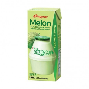 Binggrae Melon Flvr Milk 200 Ml
