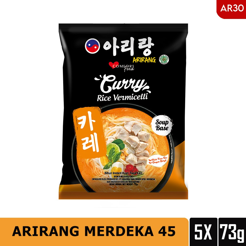 Arirang Curry Rice Vermicelli 73g Beli 3 Pcs Free 2 Pcs (ar30)